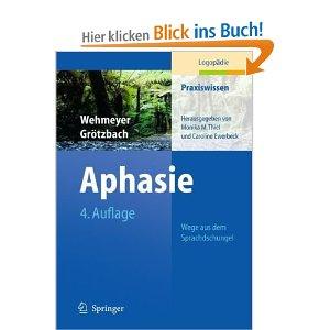 Aphasie Blick ins Buch
